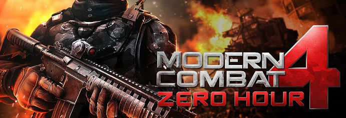 Modern Combat 4 вышел на Android