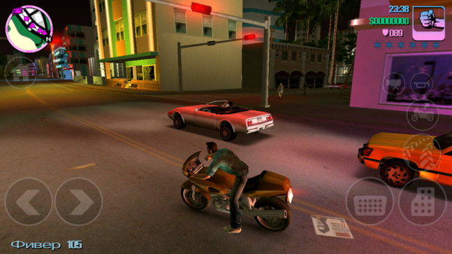Grand Theft Auto: Vice City на Android