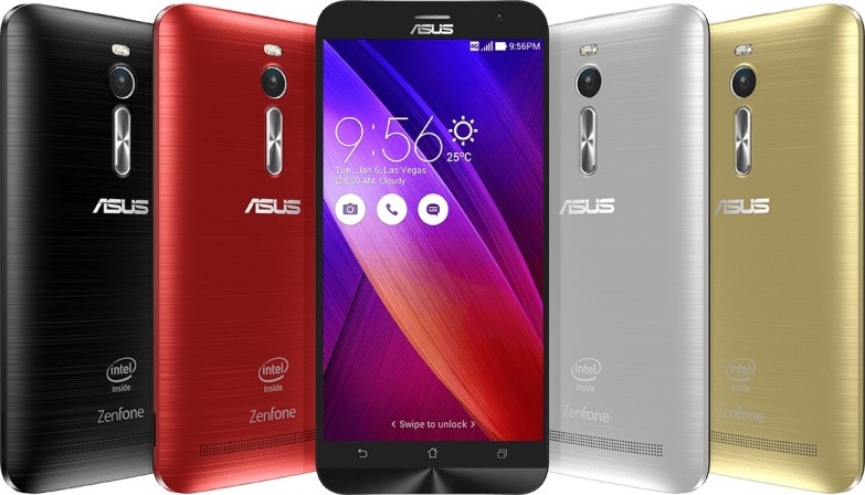 Android смартфон Asus Zenphone 2